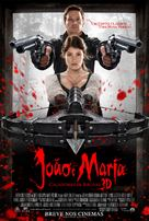 Hansel & Gretel: Witch Hunters - Brazilian Movie Poster (xs thumbnail)