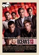 Ocean's Thirteen - German Movie Poster (xs thumbnail)