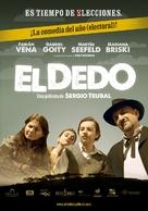 El dedo - Argentinian Movie Poster (xs thumbnail)