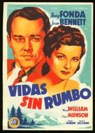 Wild Geese Calling - Spanish Movie Poster (xs thumbnail)