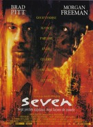 Se7en - French Movie Poster (xs thumbnail)