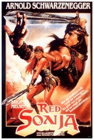 Red Sonja - German Movie Poster (xs thumbnail)