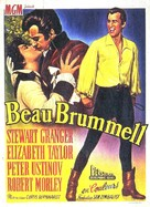 Beau Brummell - Belgian Movie Poster (xs thumbnail)
