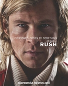 Rush - Swedish Movie Poster (xs thumbnail)