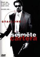 Get Carter - Czech DVD movie cover (xs thumbnail)