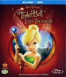 Tinker Bell and the Lost Treasure - Blu-Ray cover (xs thumbnail)