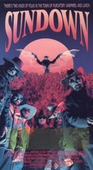 Sundown: The Vampire in Retreat - VHS cover (xs thumbnail)