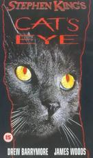 Cat's Eye - British VHS cover (xs thumbnail)