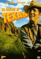 Texas Across the River - Czech DVD movie cover (xs thumbnail)