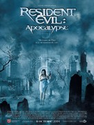 Resident Evil: Apocalypse - French Movie Poster (xs thumbnail)