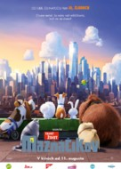 The Secret Life of Pets - Slovak Movie Poster (xs thumbnail)