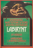 Labyrinth - Polish Movie Poster (xs thumbnail)