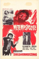 Metempsyco - Belgian Movie Poster (xs thumbnail)