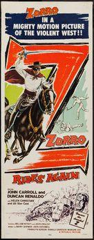 Zorro Rides Again - Movie Poster (xs thumbnail)