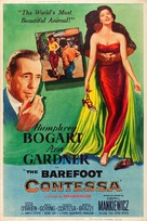 The Barefoot Contessa - Movie Poster (xs thumbnail)
