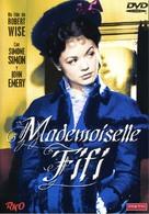 Mademoiselle Fifi - Spanish DVD cover (xs thumbnail)