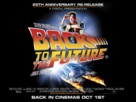 Back to the Future - British Re-release poster (xs thumbnail)