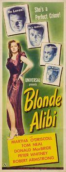Blonde Alibi - Movie Poster (xs thumbnail)