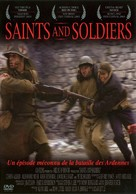 Saints and Soldiers - French DVD movie cover (xs thumbnail)