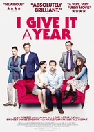 I Give It a Year - Swedish Movie Poster (xs thumbnail)