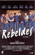 The Outsiders - Spanish Movie Poster (xs thumbnail)