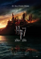 Harry Potter and the Deathly Hallows: Part I - Dutch Movie Poster (xs thumbnail)