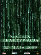 The Matrix Reloaded - Polish Movie Poster (xs thumbnail)