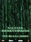 The Matrix Reloaded - Polish Movie Poster (xs thumbnail)