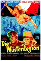 Under Two Flags - German Movie Poster (xs thumbnail)