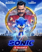 Sonic the Hedgehog - Argentinian Movie Poster (xs thumbnail)