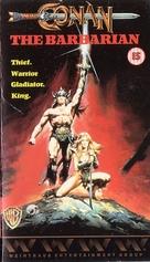Conan The Barbarian - British VHS movie cover (xs thumbnail)