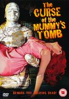 The Curse of the Mummy's Tomb - British DVD movie cover (xs thumbnail)