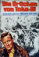 The Bridges at Toko-Ri - German Movie Poster (xs thumbnail)