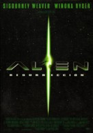 Alien: Resurrection - Spanish Movie Poster (xs thumbnail)