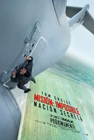 Mission: Impossible - Rogue Nation - Chilean Movie Poster (xs thumbnail)