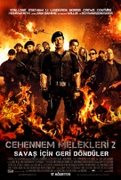 The Expendables 2 - Turkish Movie Poster (xs thumbnail)