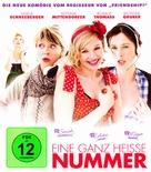 Eine ganz heiße Nummer - German Blu-Ray cover (xs thumbnail)