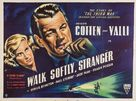 Walk Softly, Stranger - British Movie Poster (xs thumbnail)
