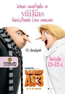 Despicable Me 3 - Lithuanian Movie Poster (xs thumbnail)