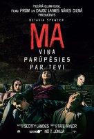 Ma - Latvian Movie Poster (xs thumbnail)