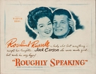 Roughly Speaking - Movie Poster (xs thumbnail)