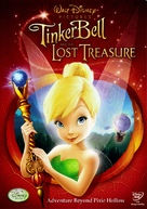 Tinker Bell and the Lost Treasure - DVD movie cover (xs thumbnail)