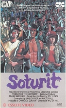The Warriors - Finnish VHS movie cover (xs thumbnail)