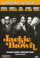 Jackie Brown - Hungarian DVD movie cover (xs thumbnail)