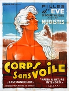 Naked as Nature Intended - French Movie Poster (xs thumbnail)