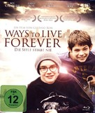 Ways to Live Forever - German Blu-Ray cover (xs thumbnail)