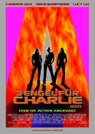 Charlie's Angels - German Movie Poster (xs thumbnail)