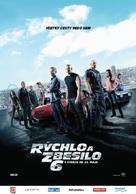 Furious 6 - Slovak Movie Poster (xs thumbnail)