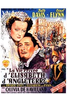 The Private Lives of Elizabeth and Essex - Belgian Movie Poster (xs thumbnail)