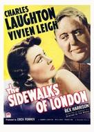 Sidewalks of London - Movie Poster (xs thumbnail)